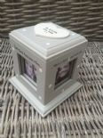 Shabby Chic Style Personalised Gift Photo Cube Box Special Best Friend Birthday